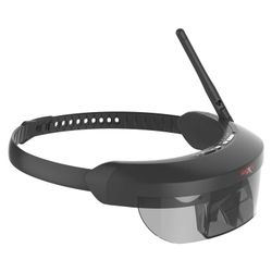 2017 NEW Monocular transmission FPV display video intelligent glasses Support 5g FPV wireless video receiver and AV in for FPV
