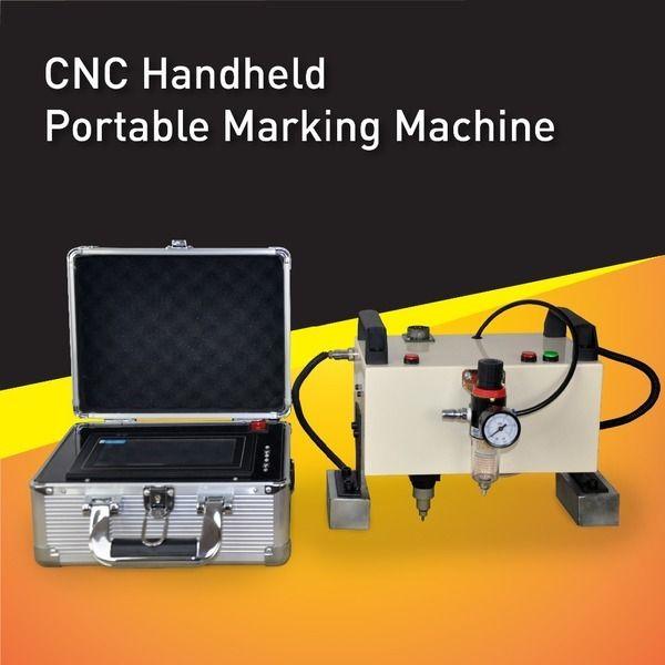 Heißer Verkauf CNC Tragbare Vin Zahl Markierungsmaschine, Hohe Qualität Pneumatische Marker, Controller integrierte und touchscreen