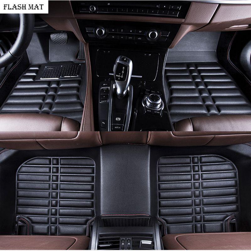 custom made car floor mats for mitsubishi pajero sport lancer grandis mitsubishi outlander xl atlas Auto accessories car mats