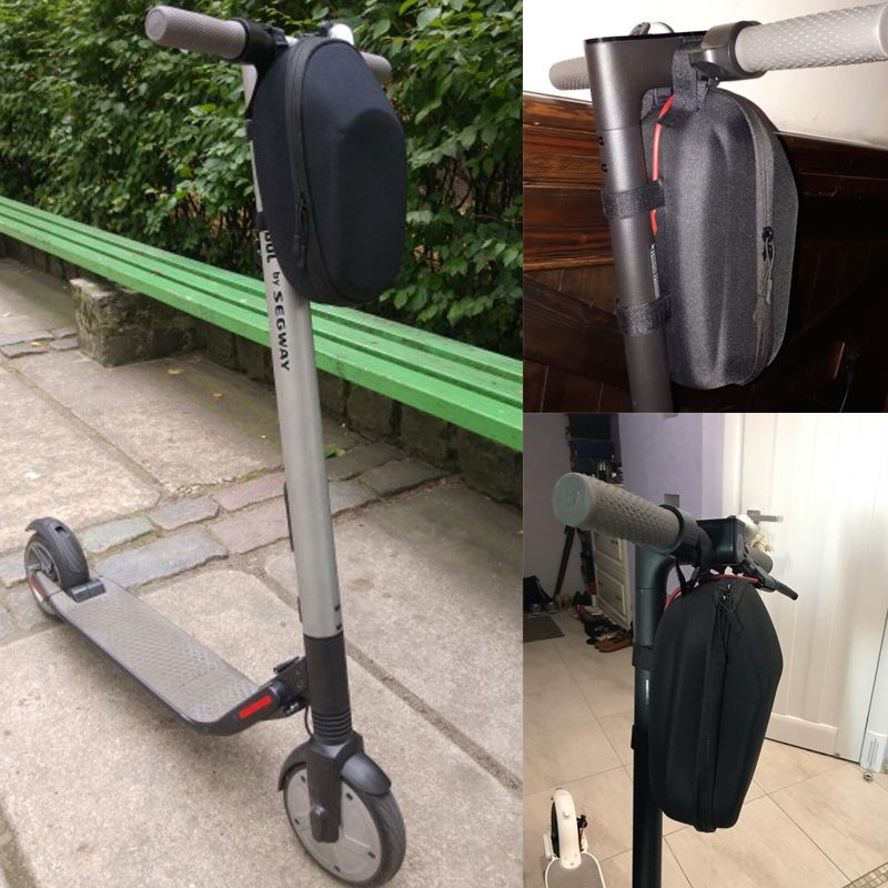 Universal <font><b>Scooter</b></font> Head Handle Bag Front for Xiaomi Mijia M365 Electric <font><b>Scooter</b></font> Ninebot ES Nextdrive F0 Tool Charger Storage Bag