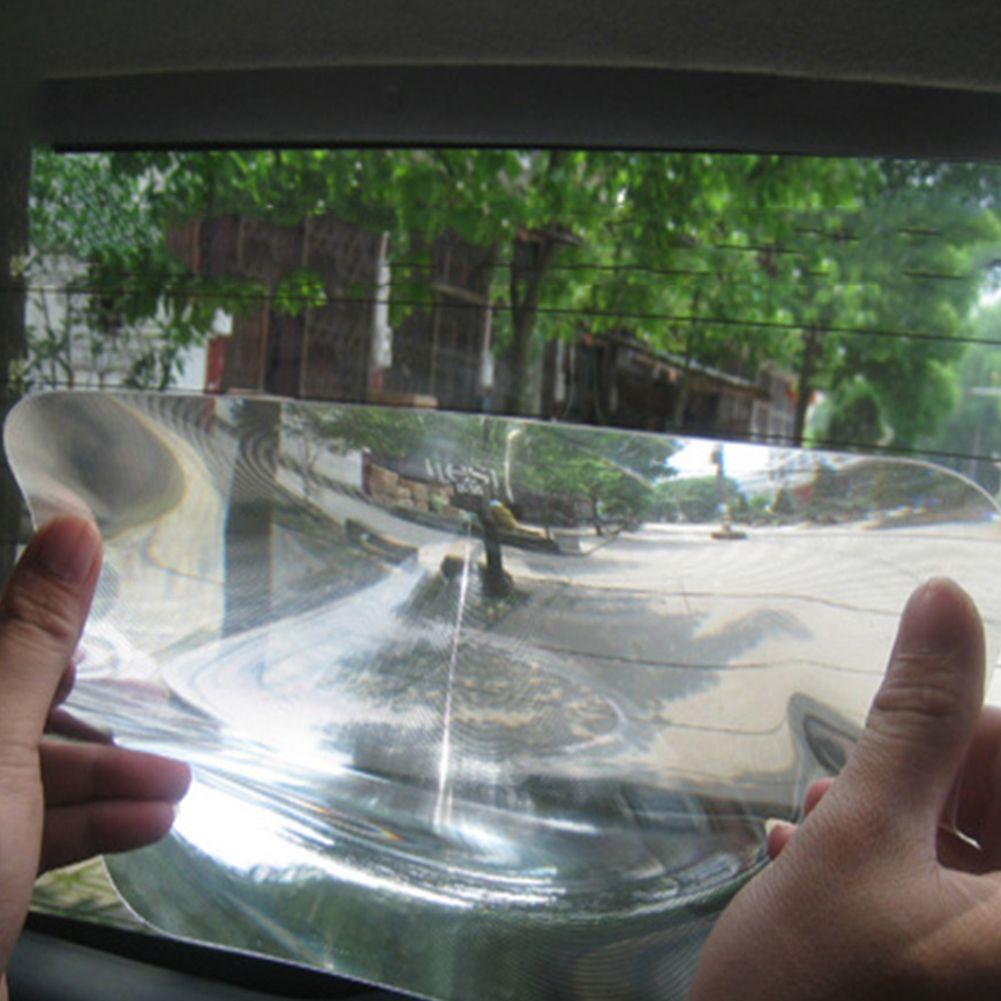 Nouvel autocollant d'inversion de stationnement de voiture de lentille de Fresnel grand Angle utile agrandir lentille de fresenl d'angle de vue