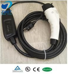 j1772 evse ELECTRIC CAR CHARGER  LEVEL 2 EV Type1 SAE J1772/ AC120V~250V 16A J1772 plug ZWET charger with EU wall socket input