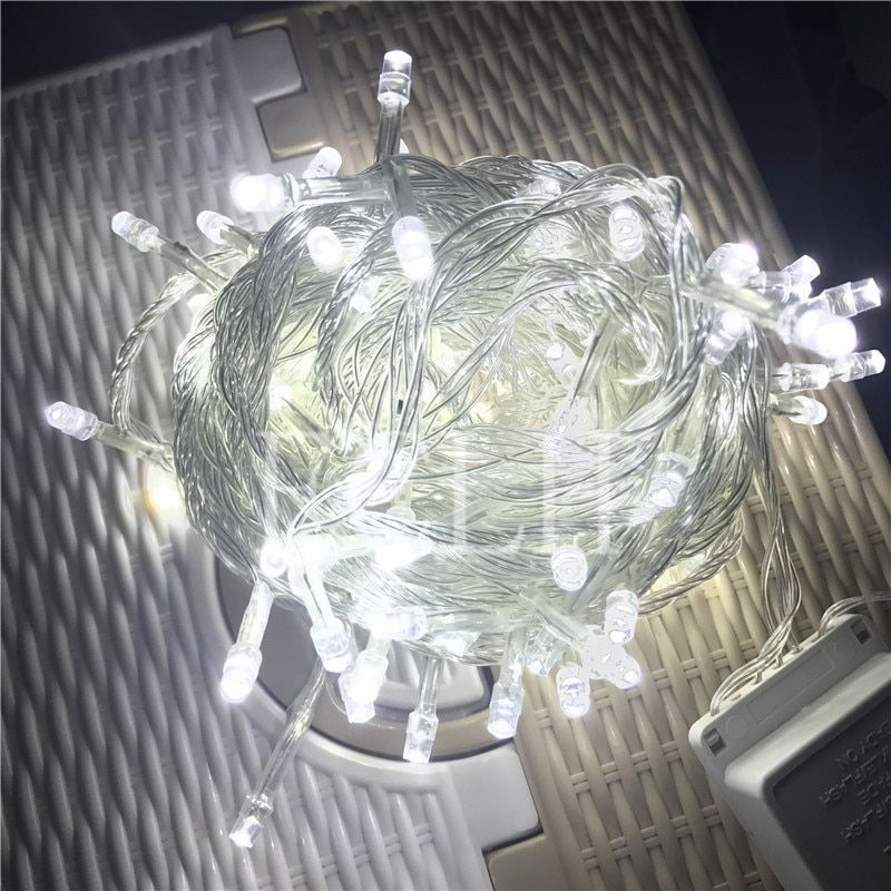 30M 300 Led String Garland Christmas Tree Wedding Fairy Light Luce Home Garden Party Holiday outdoor Decoration 8 mode