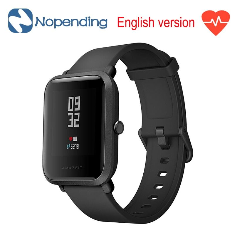 New English Original Huami Amazfit Bip <font><b>Lite</b></font> Sports Smart Watch GPS Smartwatch Gloness Heart Rate Monitor 45 Days For Xiaomi MI5