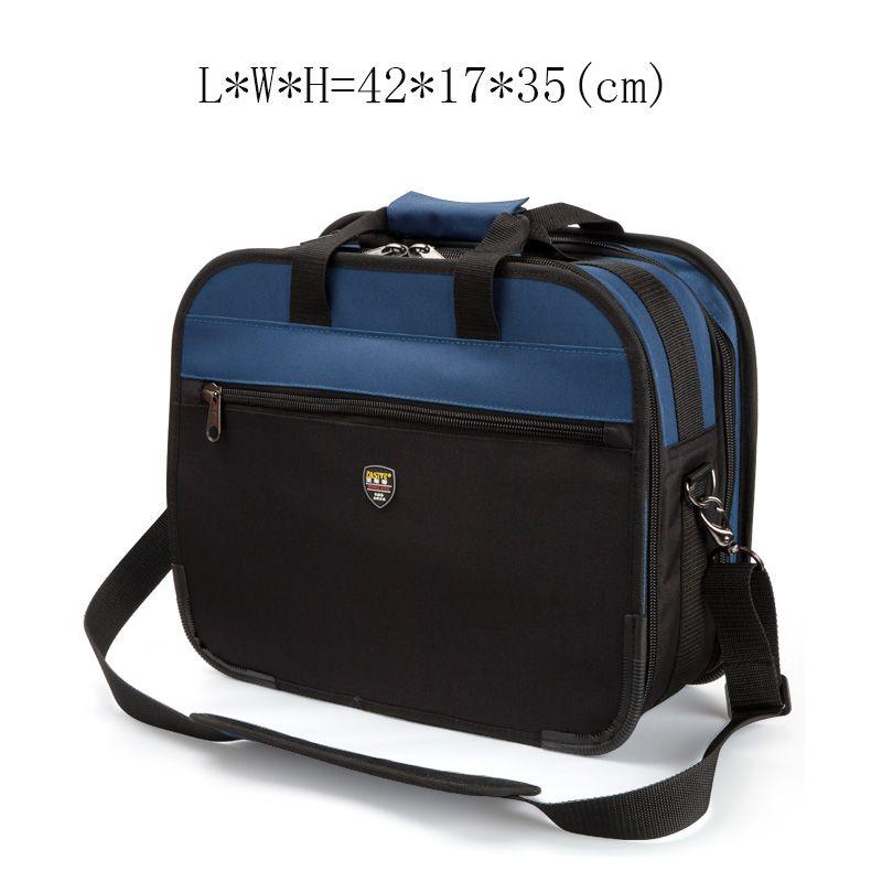 Large Toolkit Multi-function Maintenance Package Tool Bag Hardware Tool Bag Blue