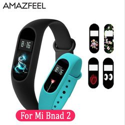 AMAZFEEL 20Pcs lot Mi Band 2 Screen Protector Ultrathin Anti-explosion for Xiaomi Mi Band 2 Wristband Screen Protectors film