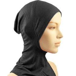 Sous Hat Cap Os Bonnet Ninja Intérieure Hijabs Femmes Musulman Islamique Wrap Foulard Cou Pleine Couverture Écharpe 14 Couleurs