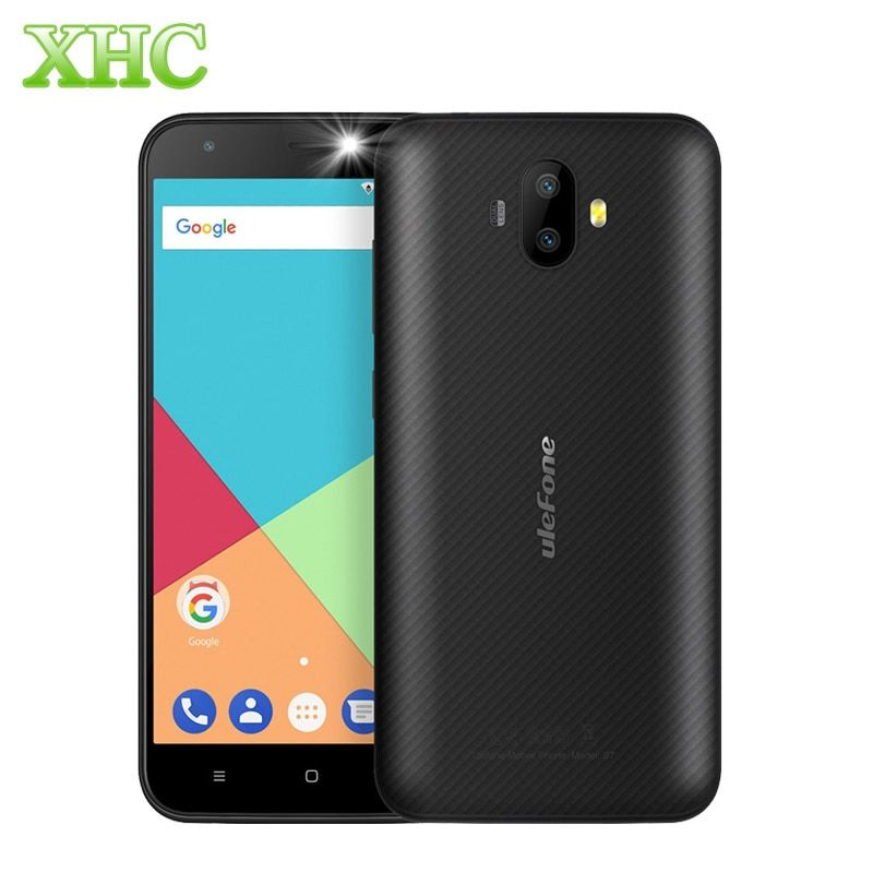 Ulefone S7 RAM 1GB ROM 8GB Smartphone 8MP+5MP Rear Cameras 5.0 inch Android 7.0 MTK6580A Quad Core Dual SIM 3G Mobile Phone