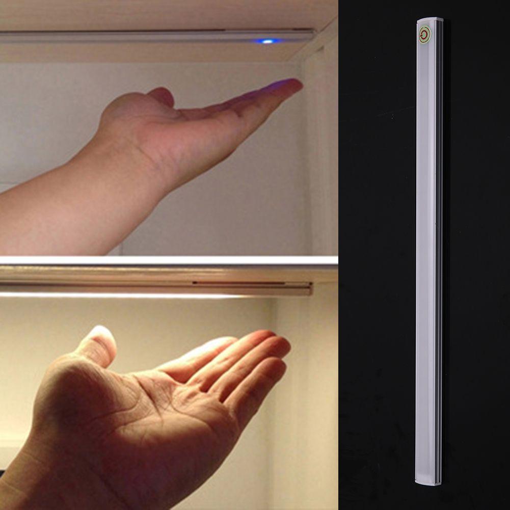 LED Touch Dimmen Sensor Lampe Küche Wohnzimmer Study Lesen Beleuchtung mit Aufkleber Bad Schränke Schrank Led-Licht
