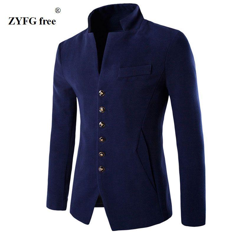 Hommes de 2018 velours blazer costume nouvelle mode Slim fit veste 3 couleur unique bouton manteau style décontracté automne hiver outwear Costumes