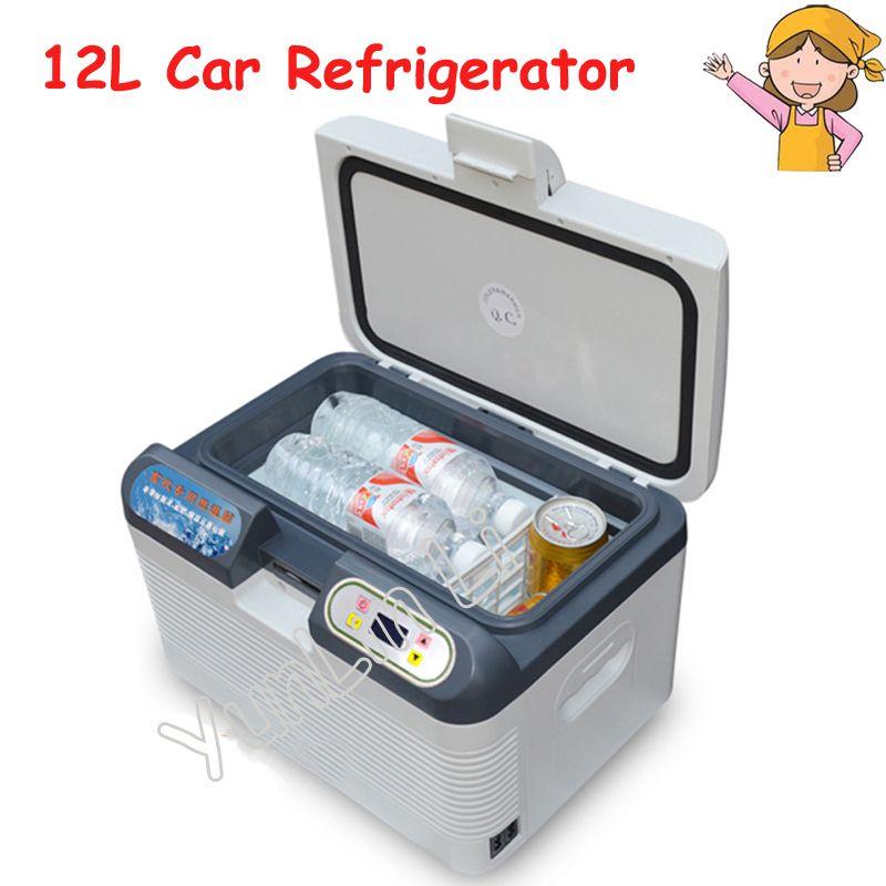 12L Car Refrigerator Portable Pig Semen Thermostat Machine Mini Household Livestock Refrigerator 12L4