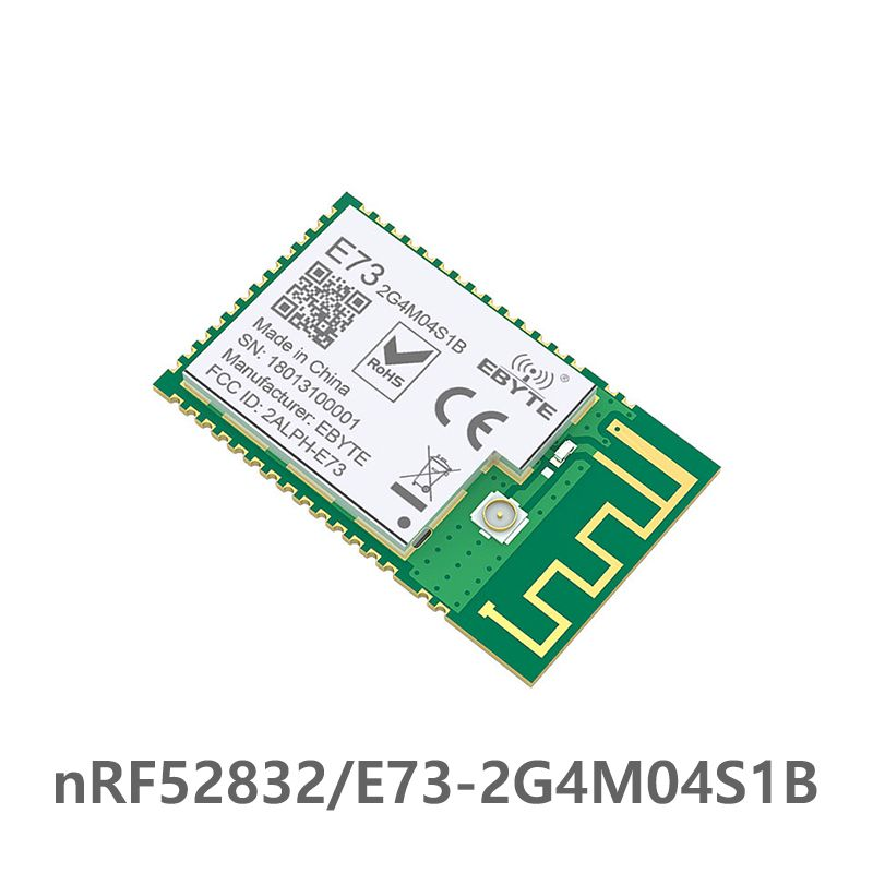 Bluetooth 5.0 nRF52832 ebyte 2.4Ghz E73-2G4M04S1B IPEX PCB Antenna IoT uhf Wireless Transceiver Ble 5.0 rf Transmitter Receiver