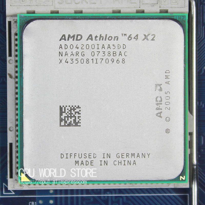 AMD Athlon 64X2 4200 + CPU Prozessor 2,2 Ghz/1 Mt/1000 GHz Sockel am2 940 pin arbeits