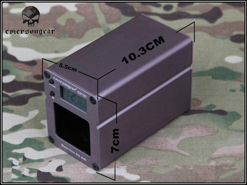 EMERSON E9700 schießen chronograph Speed Tester mit Pixel Tactical Airsoft hohe qualität und genauigkeit
