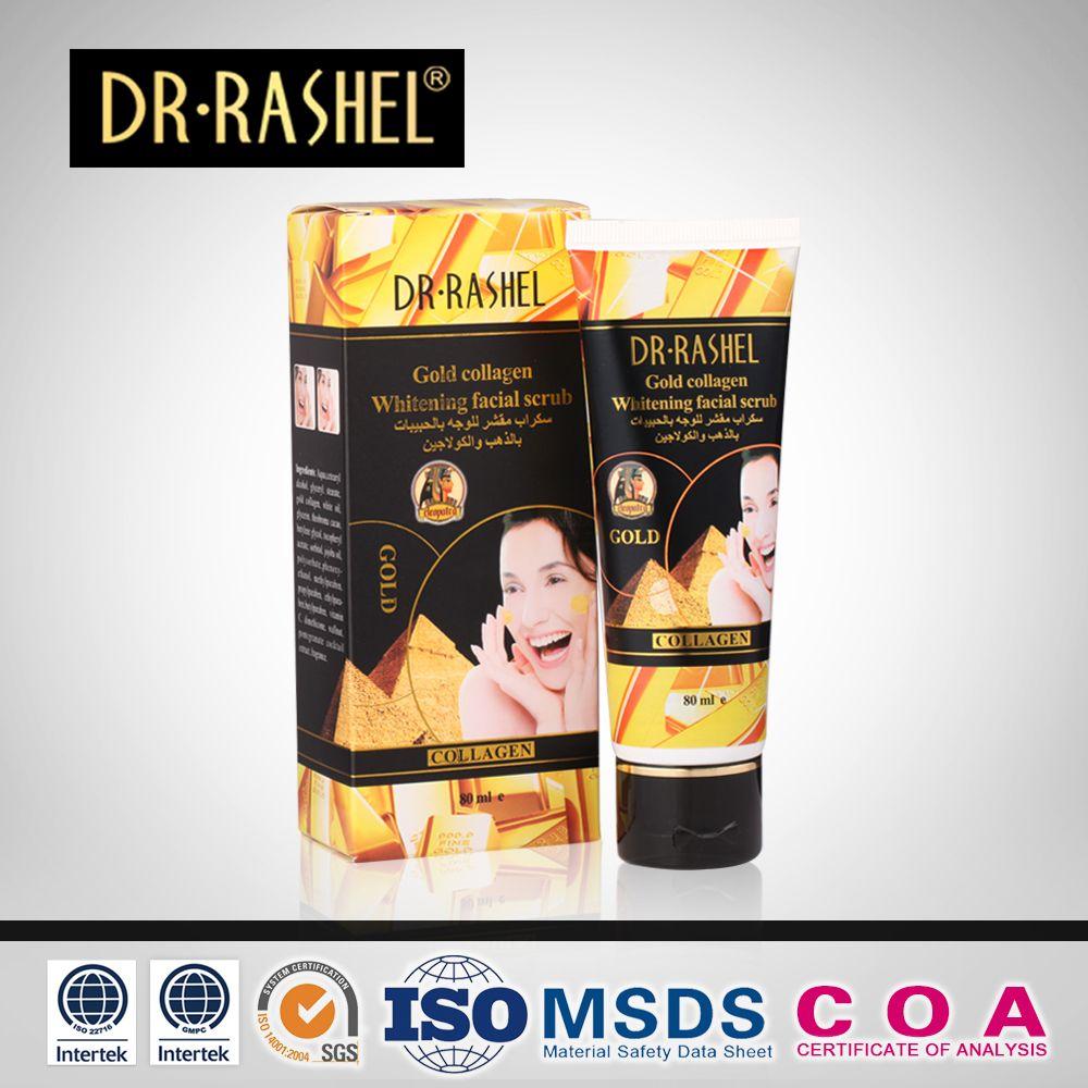 Exfoliant exfoliant exfoliant pour le visage gommage pour la peau morte Gel pour le visage Peeling crème pour le visage adoucir corné nettoyant pour le visage or DR. RASHEL
