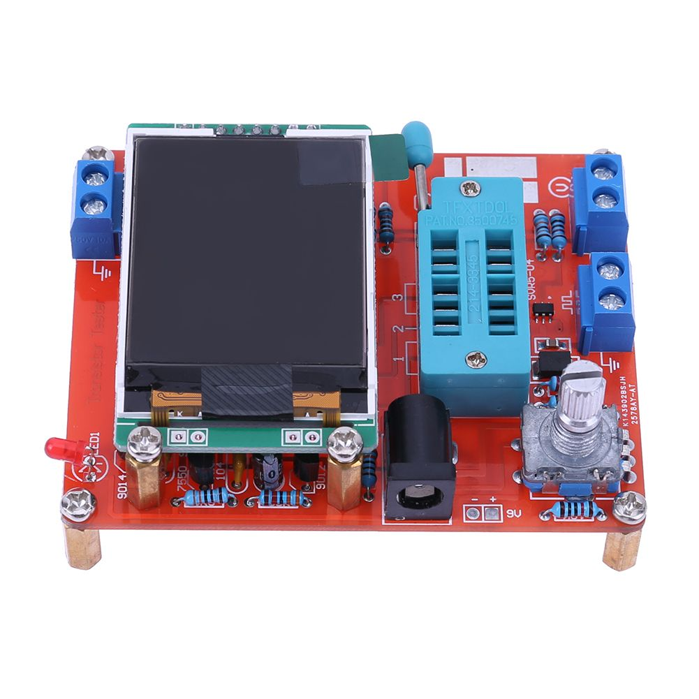 2017 Multifunctional Tester GM328 Transistor Tester Capacitance Voltage Meter Frequency Measurement Instrument PWM Square Wave