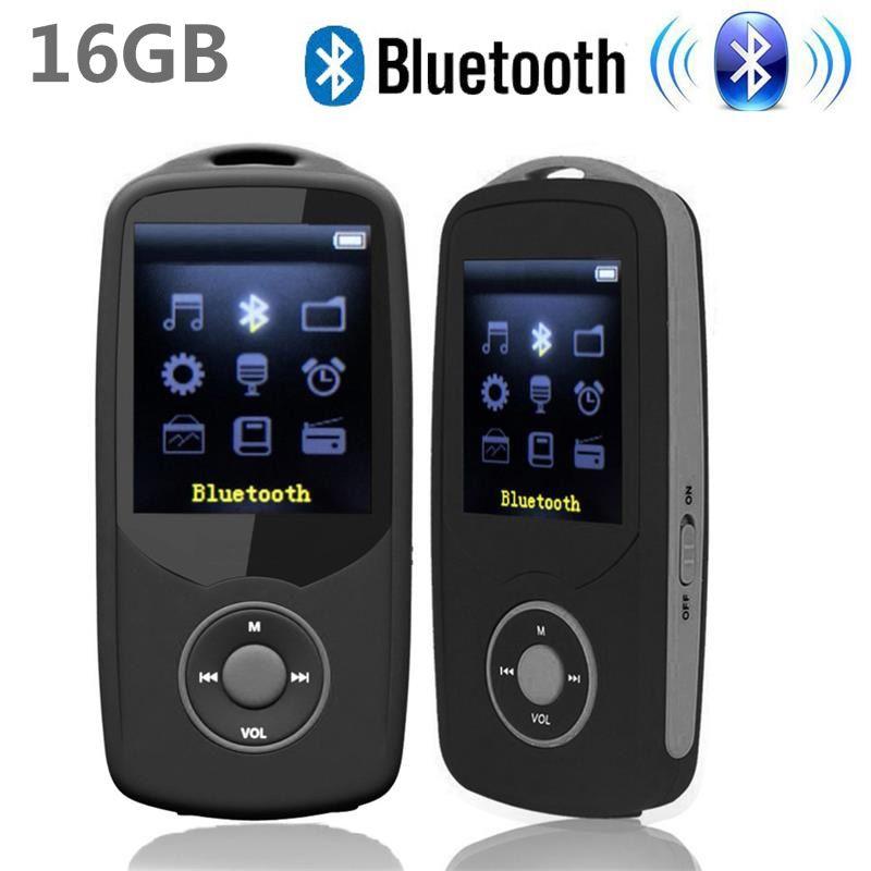 2017 New Original RUIZU X06 16G Bluetooth MP3 Music Player 1.8 Inch 100Hr High Quality Lossless Recorder FM Radio Sports Walkman