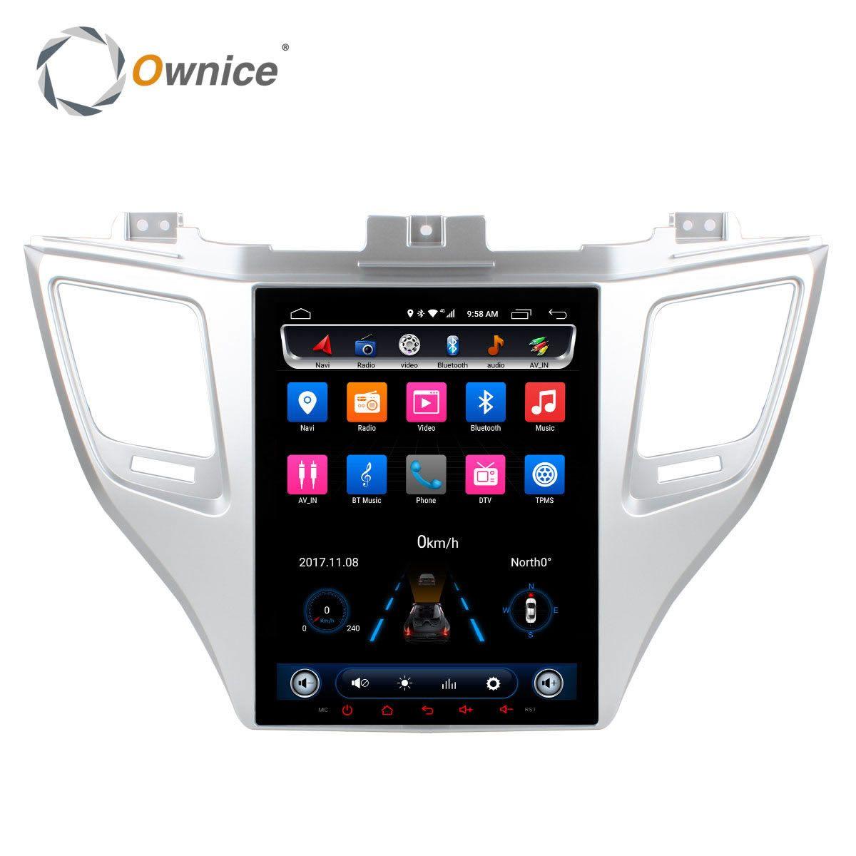 Ownice Android 6.0 Zwei Lärmauto DVD-Spieler Für Hyundai TUCSON 2015 mit 2 GB RAM 32g rom GPS Navigation Radio Unterstützung auto spielen dvr