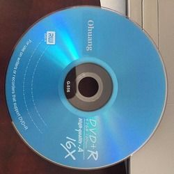 Wholesale 10 discs Grade A 4.7 GB 16x Blue Blank Printed DVD+R Disc
