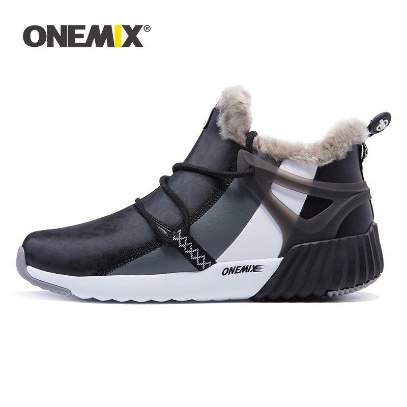 ONEMIX herren-Trekking Schuhe Anti Slip Wanderschuhe Berg Schuhe Komfortable Warme Outdoor Turnschuhe Für Männer Zu Fuß Trekking