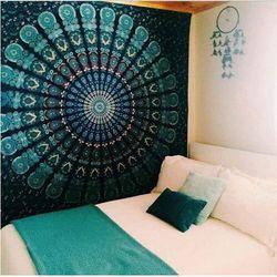 Indien Bohème Mandala Tapisserie Tenture Plage de Sable Jeter Tapis Couverture Camping Tente Voyage Matelas de Couchage Pad Tapisserie