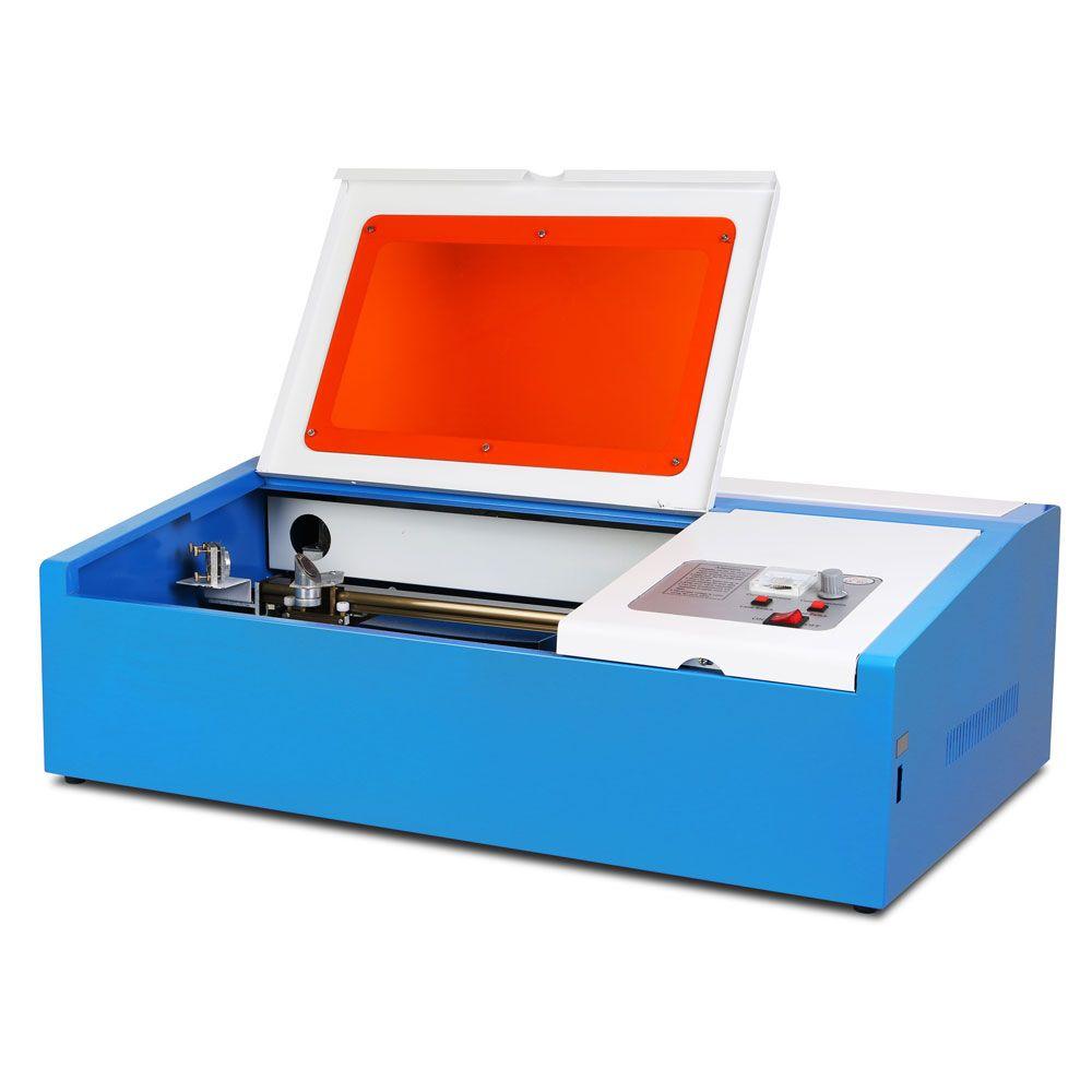 CO2 laser graviermaschine 40W cutting tool w/ USB port engraver Cutter