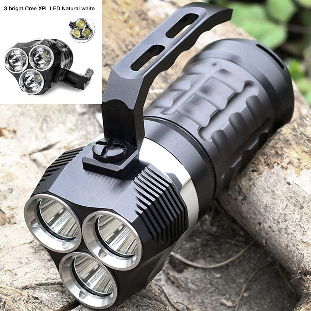 Sofirn SD01 lampe de poche professionnelle de plongée sous-marine Cree XPL 3000LM lumière LED projecteur sous-marin 18650 puissant lampe de poche LED