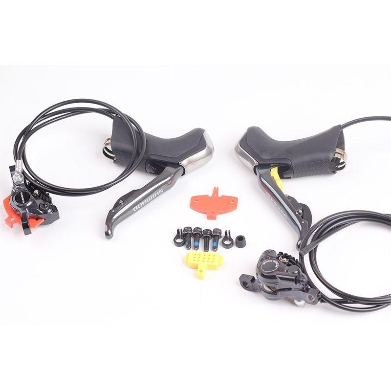 Shimano Elektronische Di2 Rennrad Hydraulische Scheiben Bremse ST R785 Di2 Shifter Bremshebel & BR R785 ICE-TECH 1000/ 1700mm
