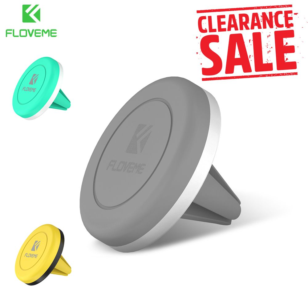 FLOVEME Universal Magnetic Car Phone Holder Air Vent Mount Stand For Samsung S8 iPhone 6s 7 8 X 5s SE Car Holder Support Movil