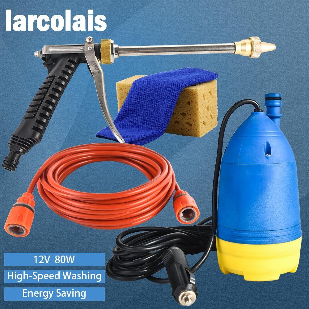 Multi Functional High Pressure Self-priming Electric Water Auto Wash Machine Car Washer Pump Spray Gun Cleaning 12V