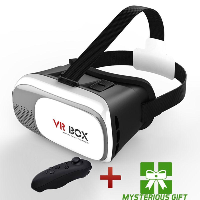 VR 2.0 2 II Smart Box Casque Gerceklik Virtual Reality Glasses Goggle Google 3D 3 D Box VR Headset Helmet For Smartphone Lunette