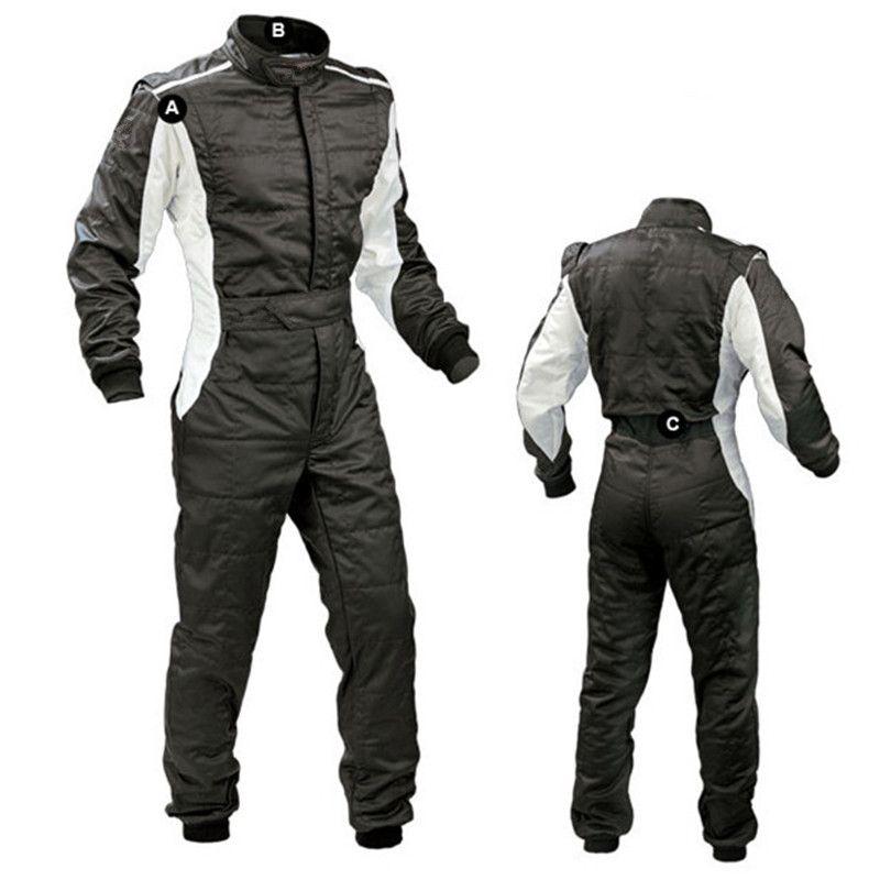 2018 New arrival car racing suit moto Motorcycle Kart Overall men and women go kart drift racing Karting Suit practice service