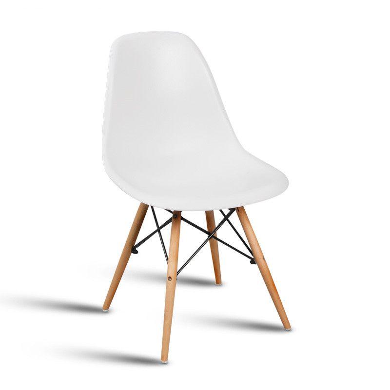 Mode synthétique de résine chaise. l'europe et les ÉTATS-UNIS populaire chaise en plastique. synthétique résine retour. solide chaise en bois jambes