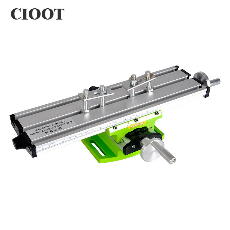 Miniature Precision Work Table Bench Vise Drill Table Fixture X Y-axis Adjustable Coordinate For Drilling Milling Machine Tools