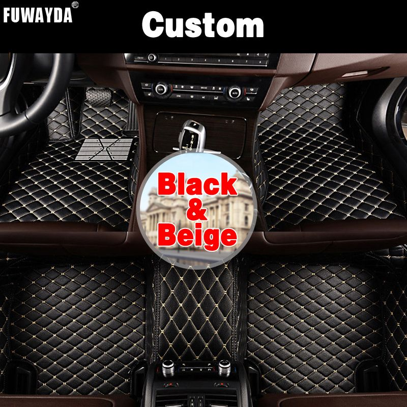 FUWAYDA Custom fit car floor mats made for New Mazda CX-5 2018 waterproof durable rugscarpets for Mazda CX5 2017 Cargo Liner
