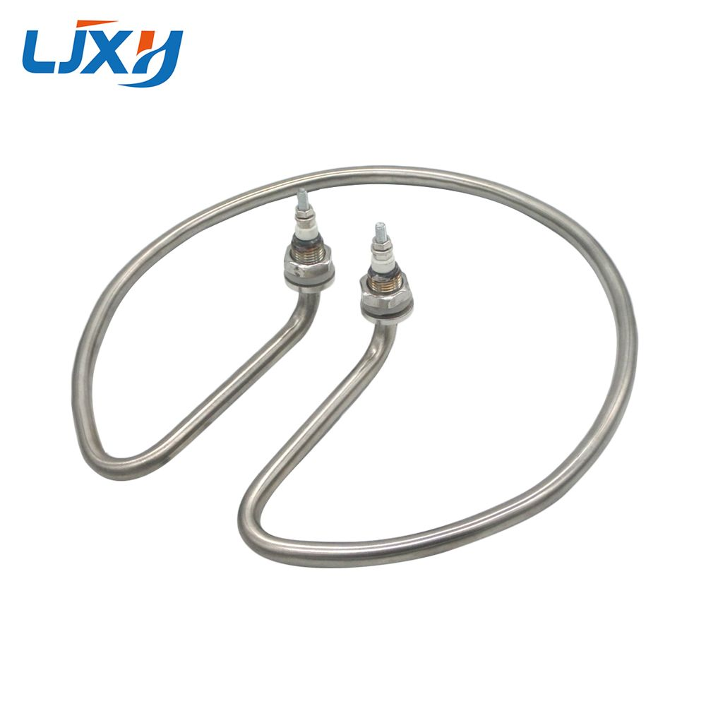 LJXH Standard Type Water Heating Element Electric Tube Heater for Open Bucket 304 Stainless Steel/Copper Pipe 220V 2KW/2.5KW/3KW