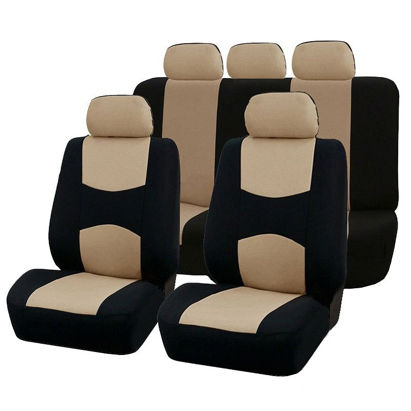 Automobiles Seat Covers Full Car Seat Cover Universal Fit Auto Interior Accessories Seat Decoration Protector Cover Car-Styling