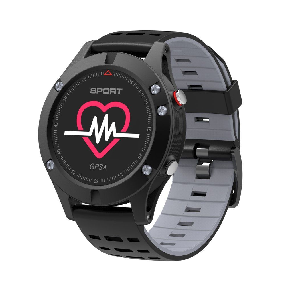 F5 GPS OLED Color Display Smart Watch Altimeter Barometer Thermometer Bluetooth 4.2 Outdoor Sports Smartwatch