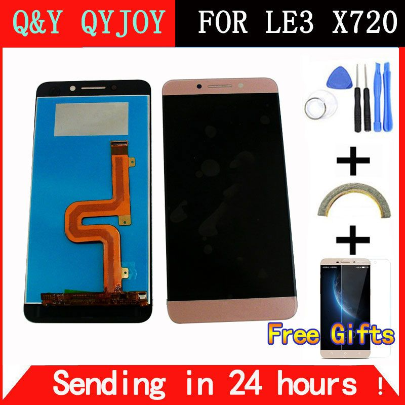 Q&Y QYJOY LCD Screen For LeTV LeEco Le Pro3 Pro 3 X720 X725 X727 LCD Display + Touch Screen 100% New Digitizer Assembly +tools