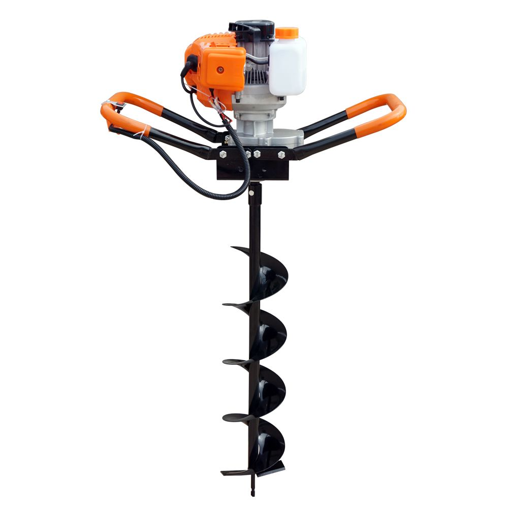 2.2HP Gas Powered Post Hole Digger W/ 8