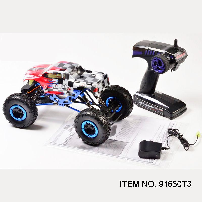 HSP RACING RC voitures KULAK 1/16 échelle électrique roche chenille 4WD hors route prêt à courir télécommande jouets (article NO. 94680 T3)