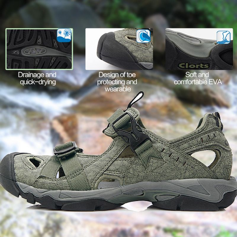 Russian Warehouse Clorts Aqua Shoes Men Summer Beach Shoes PU Water Sandals Mens Water Shoes SD-206C/D