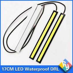 2016 Новый 2 шт. 17 см УДАРА DRL светодиодные дневные Бег авто лампа Внешнее освещение для Универсальный Автомобильный 100% waterproo стайлинга автомоб...
