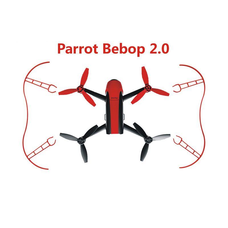 1 set nouveau perroquet anneau de Protection hélice garde pare-chocs Prop pour perroquet Bebop 2.0 RC Drone quadrirotor pièces accessoire