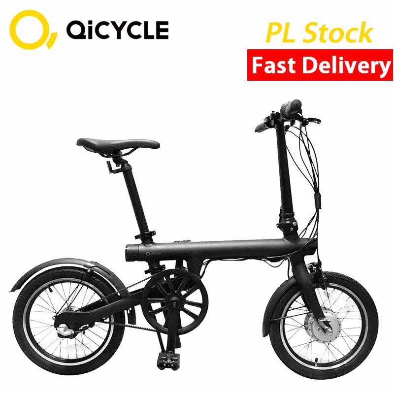 New Xiaomi Mijia Electric Bike QiCYCLE EF1 Mini Electric Ebike 16 Inch Smart Folding Bike Lithium Battery CITY EBIKE Tax Free