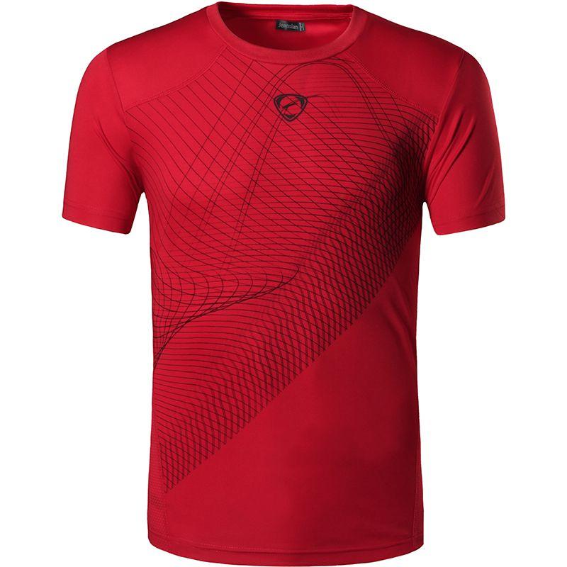 Nouvelle Arrivée 2019 hommes T Shirt Occasionnel À Séchage Rapide Slim Fit Chemises Tops & T-shirts Taille S M L XL collection LSL (S'IL VOUS PLAÎT CHOISIR USA TAILLE)