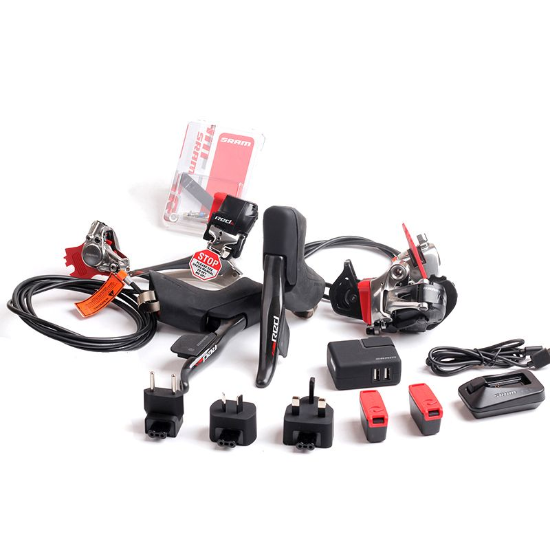 SRAM RED eTap Wireless Electronic Kit 2x11S Speed Hydraulic Disc Brake Groupset