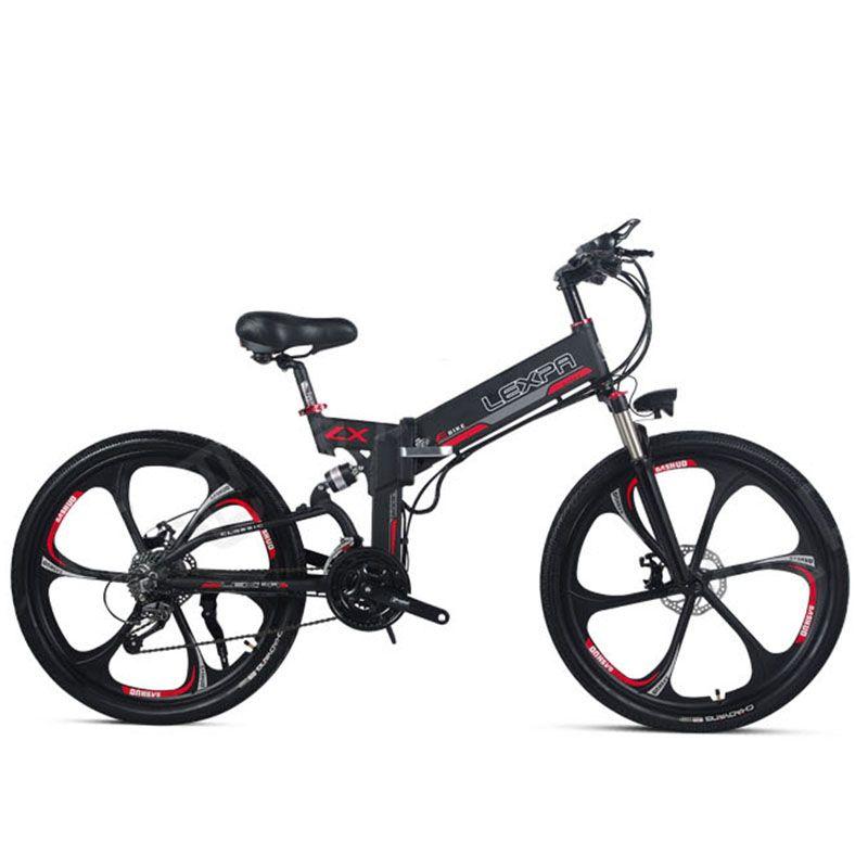 26 inch elektro mountainbike 48V400W high speed motor Leichte rahmen versteckte lithium-batterie GPS elektrische ebike