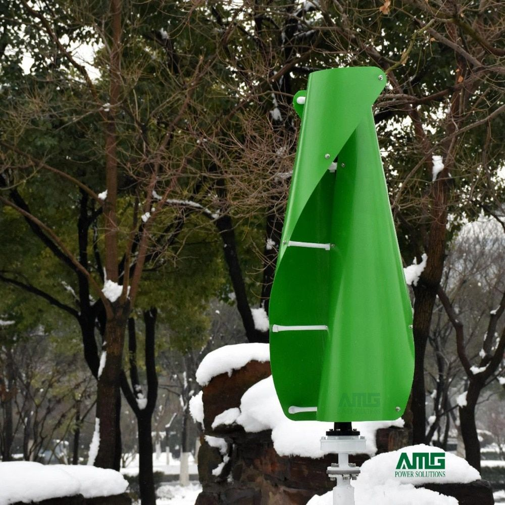 400 W 500 W 600 W 12 V 24 V Wind Helix Spirale Turbine Generator VAWT Vertikale Achse Wohn verwenden mit PWM/MPPT Ladegerät Controller