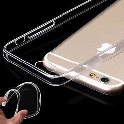 Ultra Mince 0.3 MM TPU Cas Pour Coque iPhone X Clear Crystal Tpu Étui en silicone Pour iPhone 7 Cas Pour iPhone 8 7 6 S Plus 5S 5C